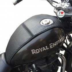 Royal Enfield Thunderbird 350/500/350x/500x Dotted Tank Cover/Tank Protector Right Side fuel cap (Black)